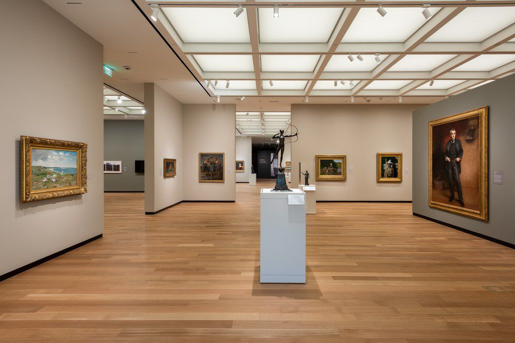 The Amon Carter Museum of American Art reopens this September after being closed for renovations since June.