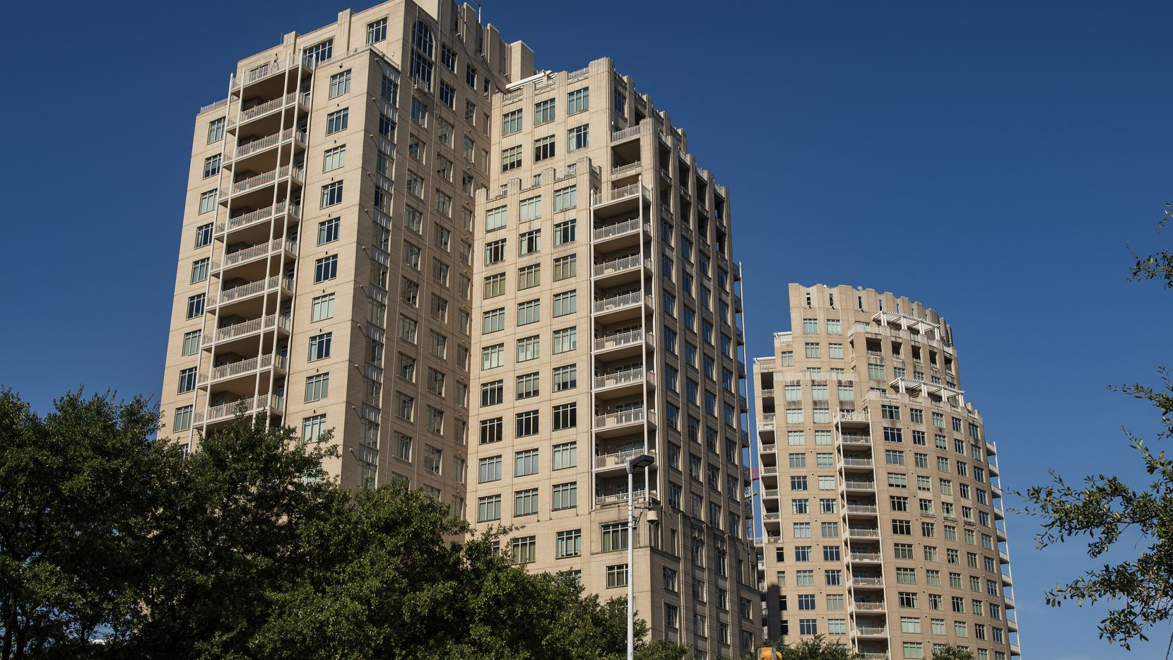 More than a dozen condos in the Ritz-Carlton high-rises north of downtown have recently come on the market.
