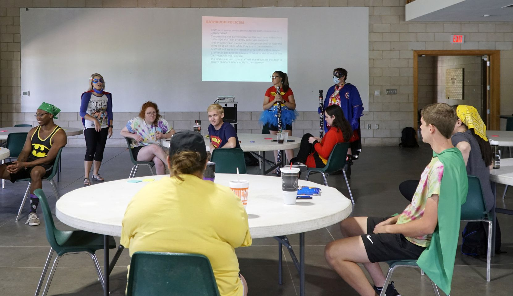 """Staff members undergo more training at Camp Carter. """"This is not going to be a 'summer as usual,'"""" said Cathy Halliday, vice president for youth development at Camp Fire in Granbury."""