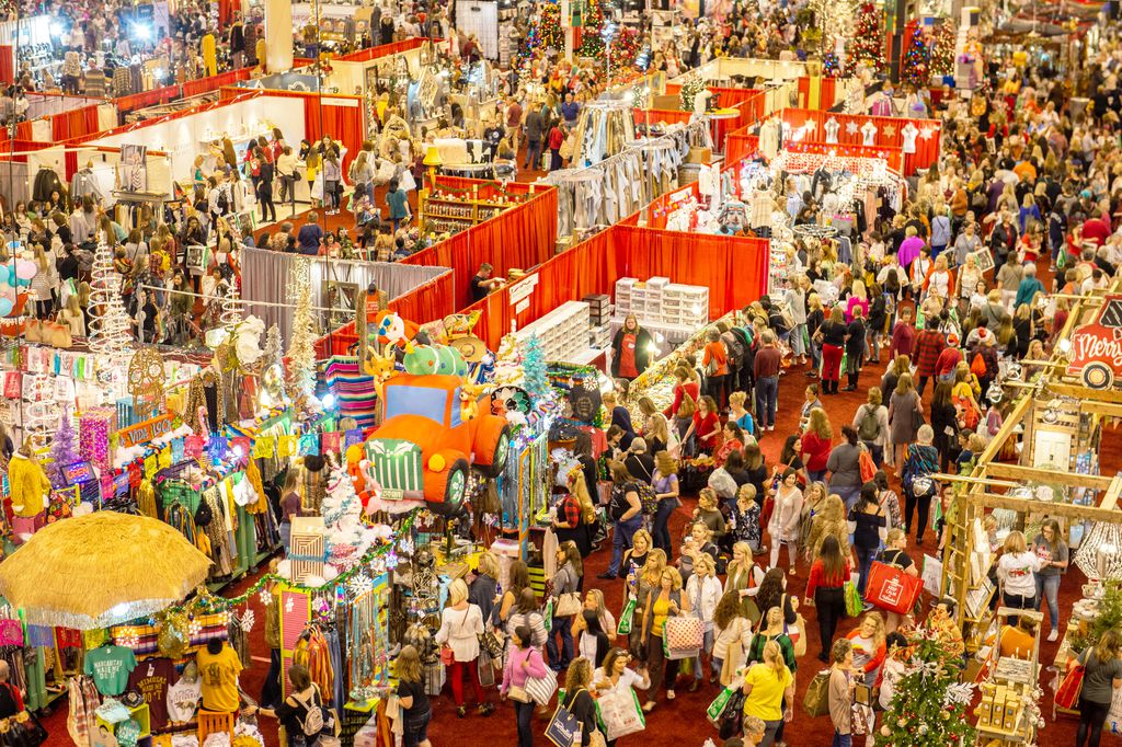 The Houston Ballet Nutcracker Market attracts more than 100,000 people during the annual four-day event in November.