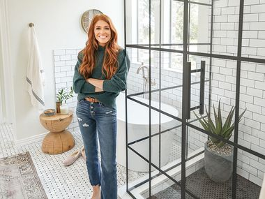 Jennifer Todryk, born and raised in Burleson, stars in one a new HGTV show. No Demo Reno, a 10-episode season, premiered on March 25, 2021. The show s finale airs on HGTV Thursday, May 27, 2021 at 7 p.m. Claytor home - Location shot of Jenn in the renovated bathroom