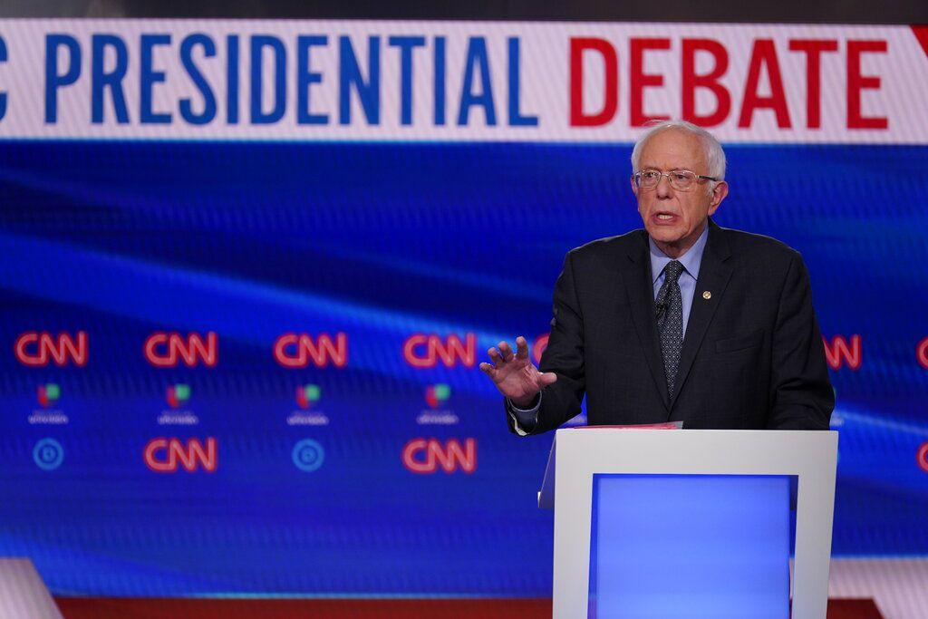 Bernie Sanders (AP Photo/Evan Vucci)