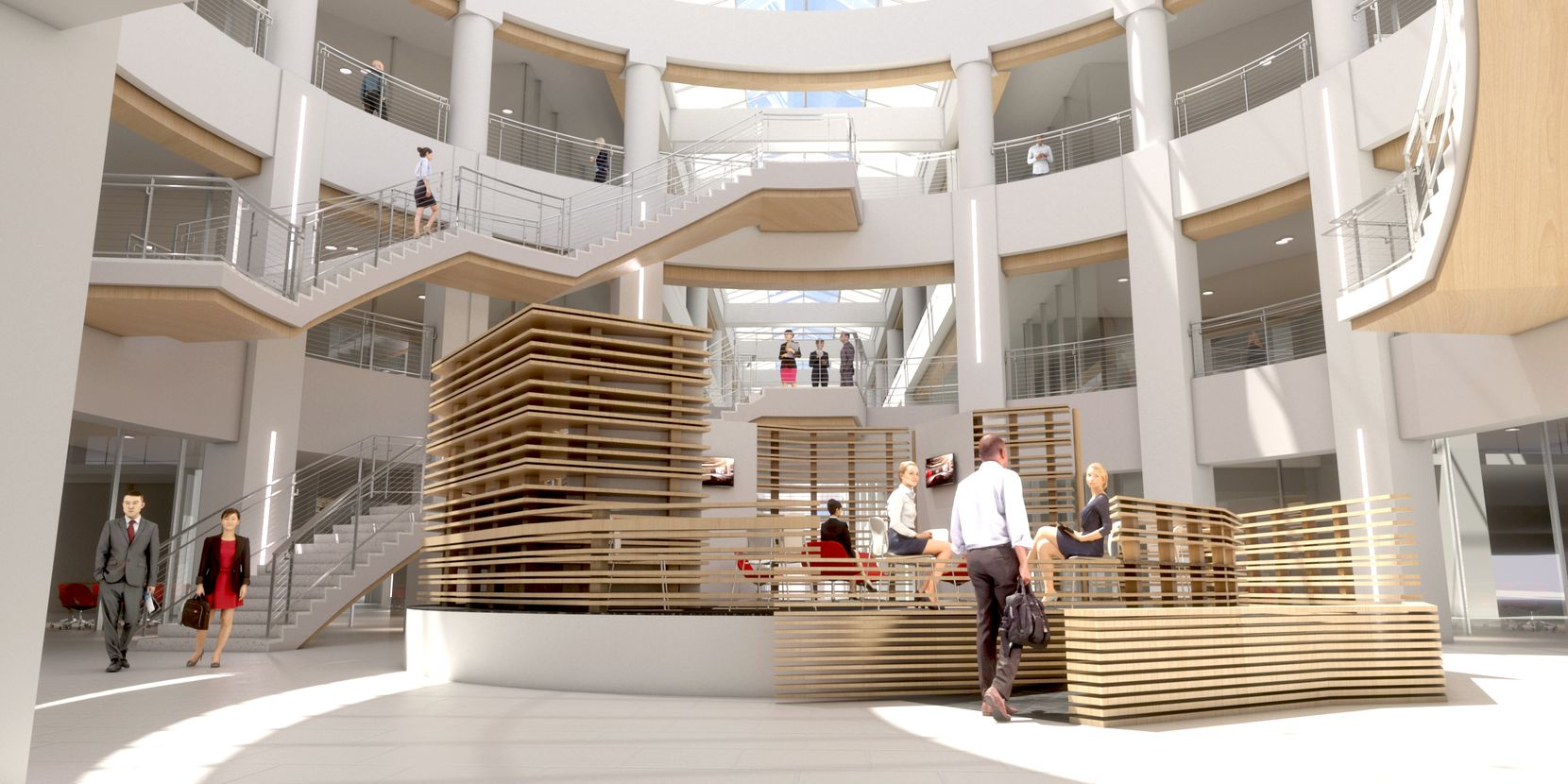 Redevelopment plans for J.C. Penney's corporate office in Plano show a total new look.