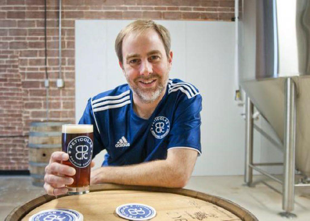 Michael Peticolas, brewer and founder of Peticolas Brewing Co.