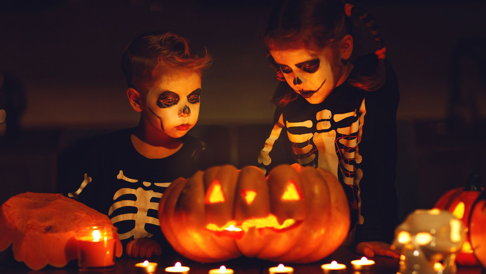 Fifty percent of consumers decorate their yard or home during Halloween.