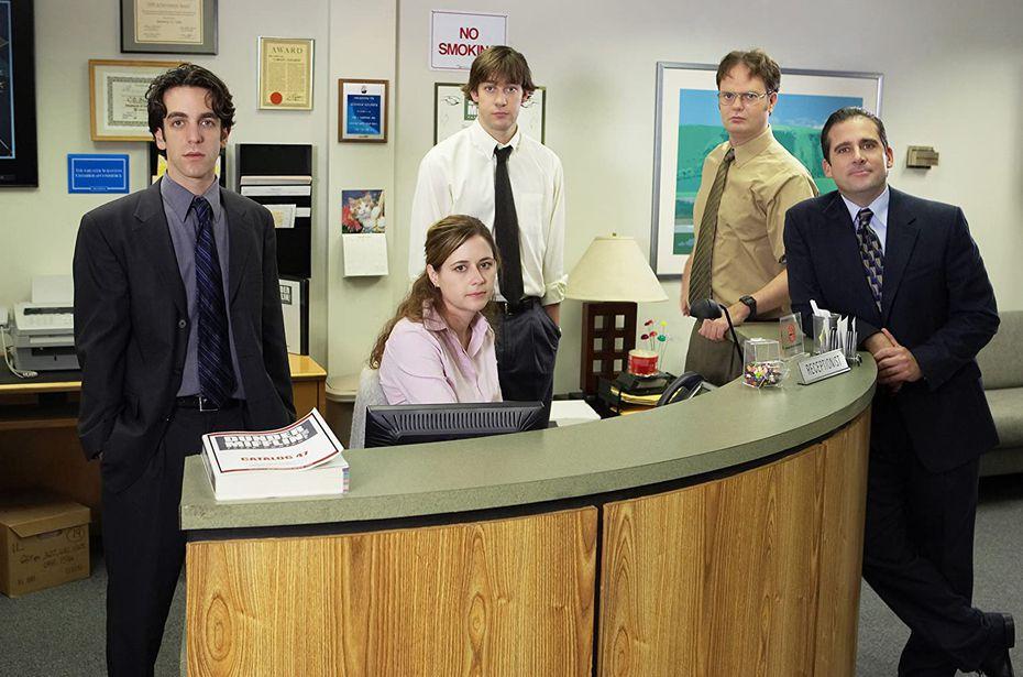 The Office, la versión estadounidense del sitcom, fue protagonizada por Steve Carrell.