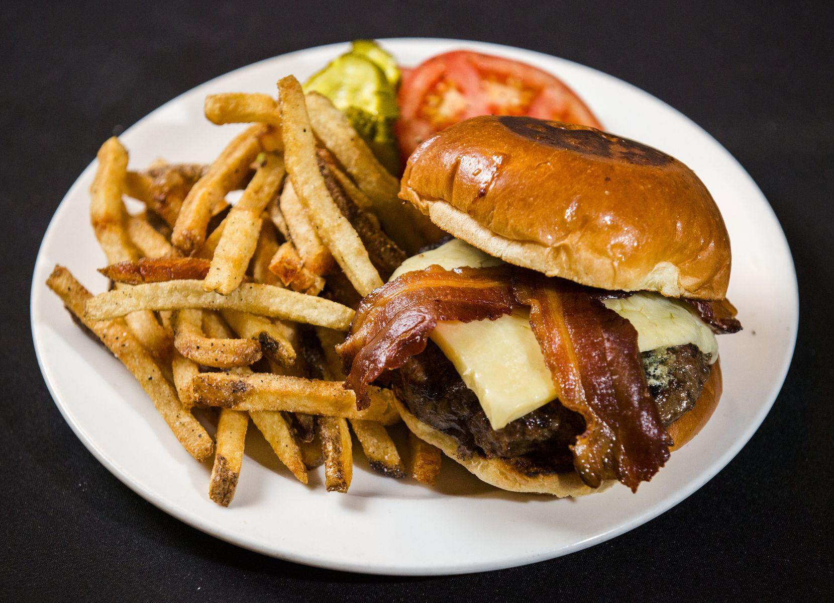 The famous burger