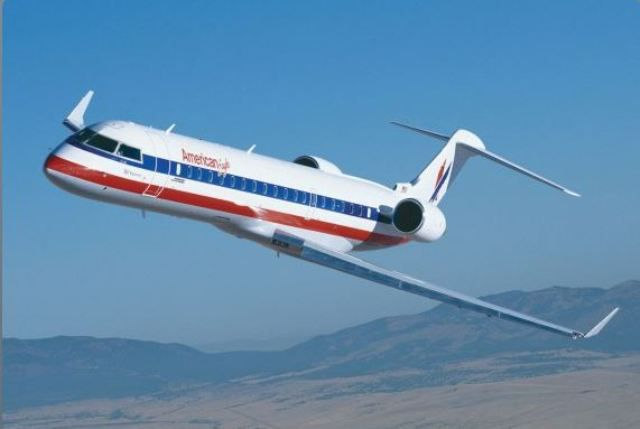 PSA Airlines operates flights under the American Eagle name.