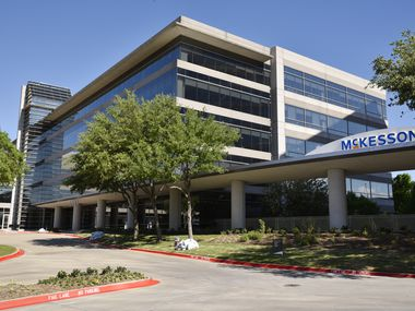 Irving-based McKesson reported fiscal year 2019 revenue of $214.3 billion.