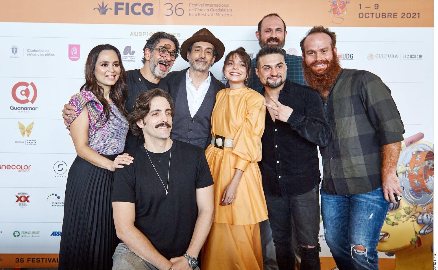 "El elenco de ""Búnker"", la primera serie mexicana de HBO Max."