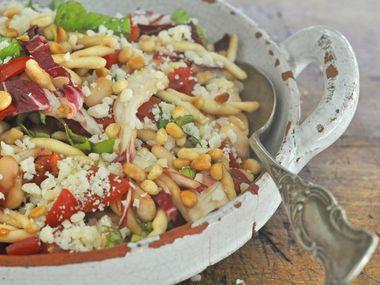 Cannellini, Pasta and Radicchio Salad