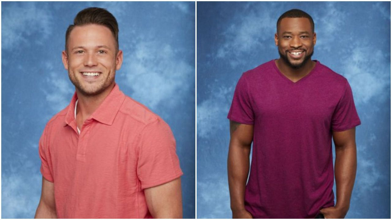 """Lee Garrett (left) and Kenny King (right) got into some heated discussions during the 13th season of """"The Bachelorette."""" Garrett has since been accused on being racist."""