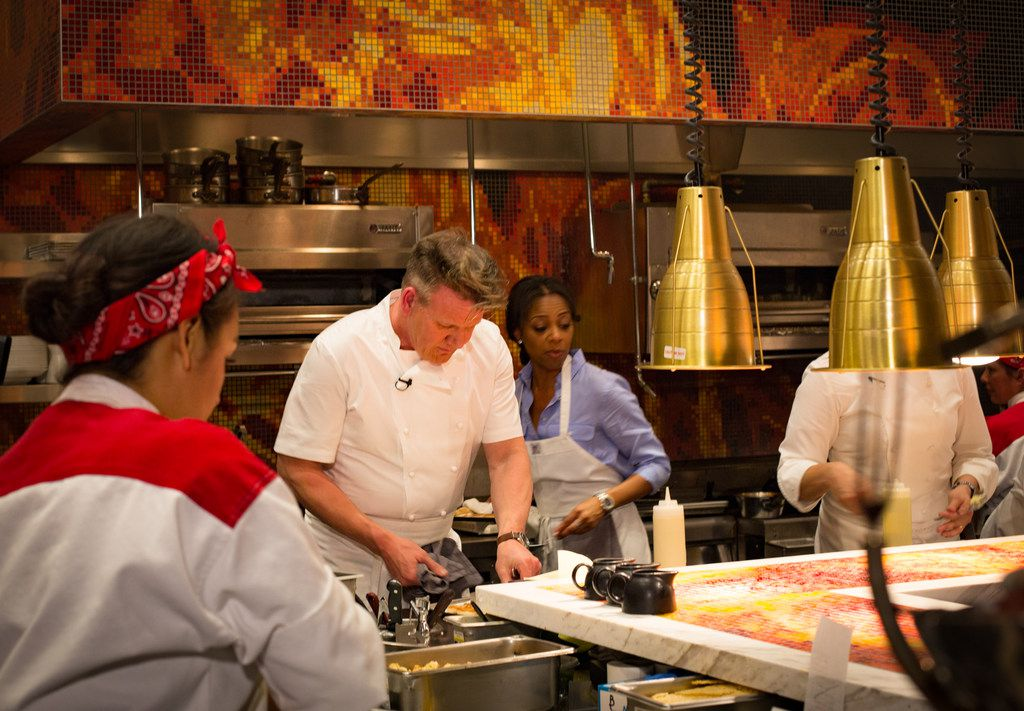 Gordon Ramsay now operates five restaurants at Caesars properties in Las Vegas, including the new Hell's Kitchen.