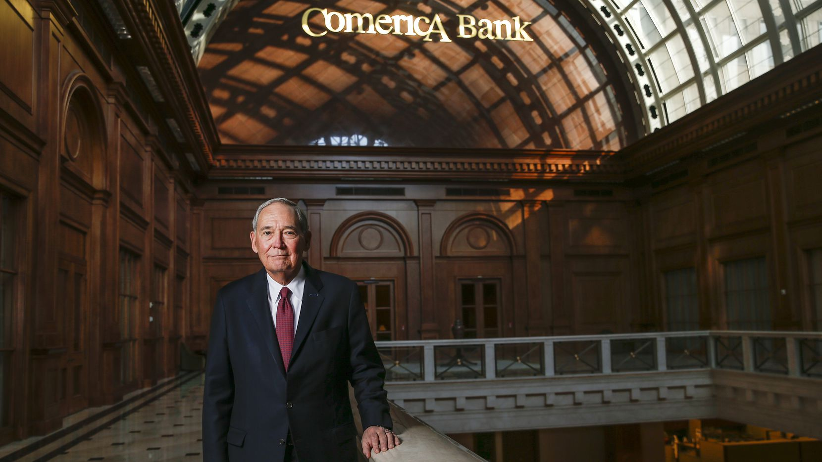 Ralph Babb, who is retiring from Comerica after serving as CEO and chairman, pushed the banking company to relocate its corporate headquarters to downtown Dallas in 2007.