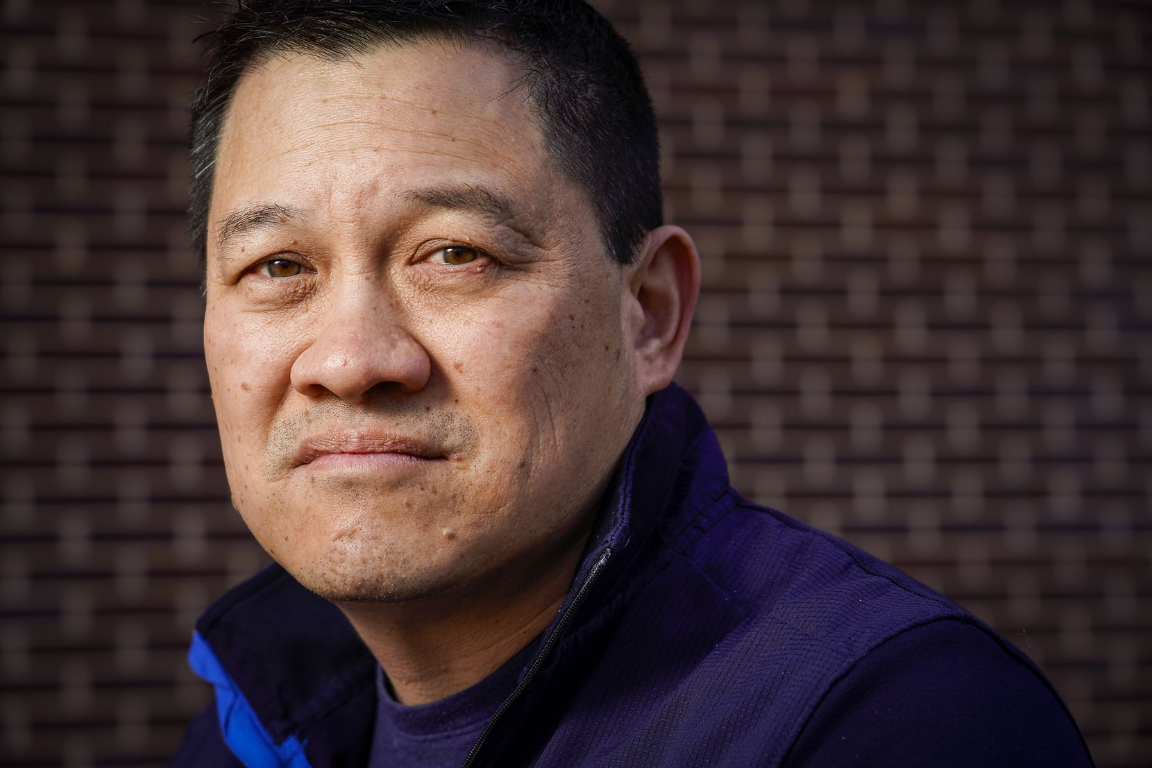 Albert Shen, who leads the Texas chapter of the Asian American Action Fund, was photographed in Southlake on Wednesday, March 17, 2021.