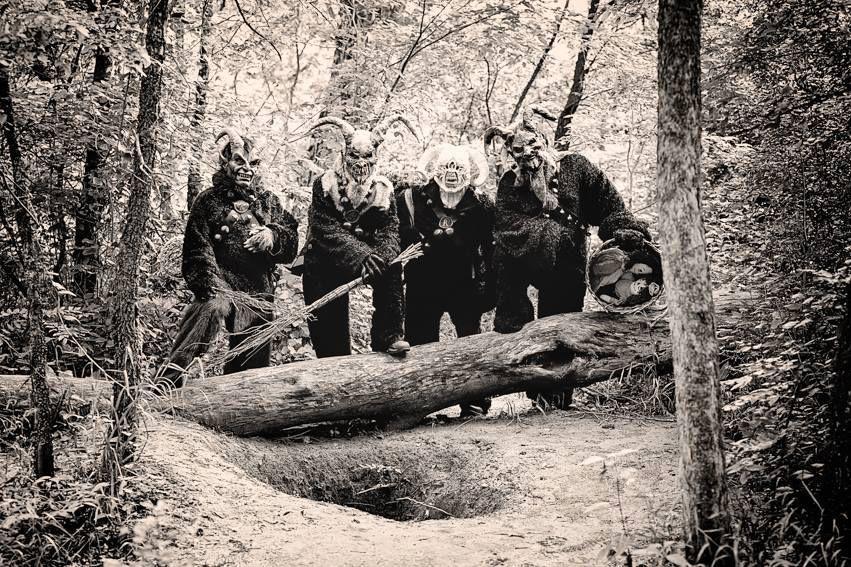 Members of the Krampus Society