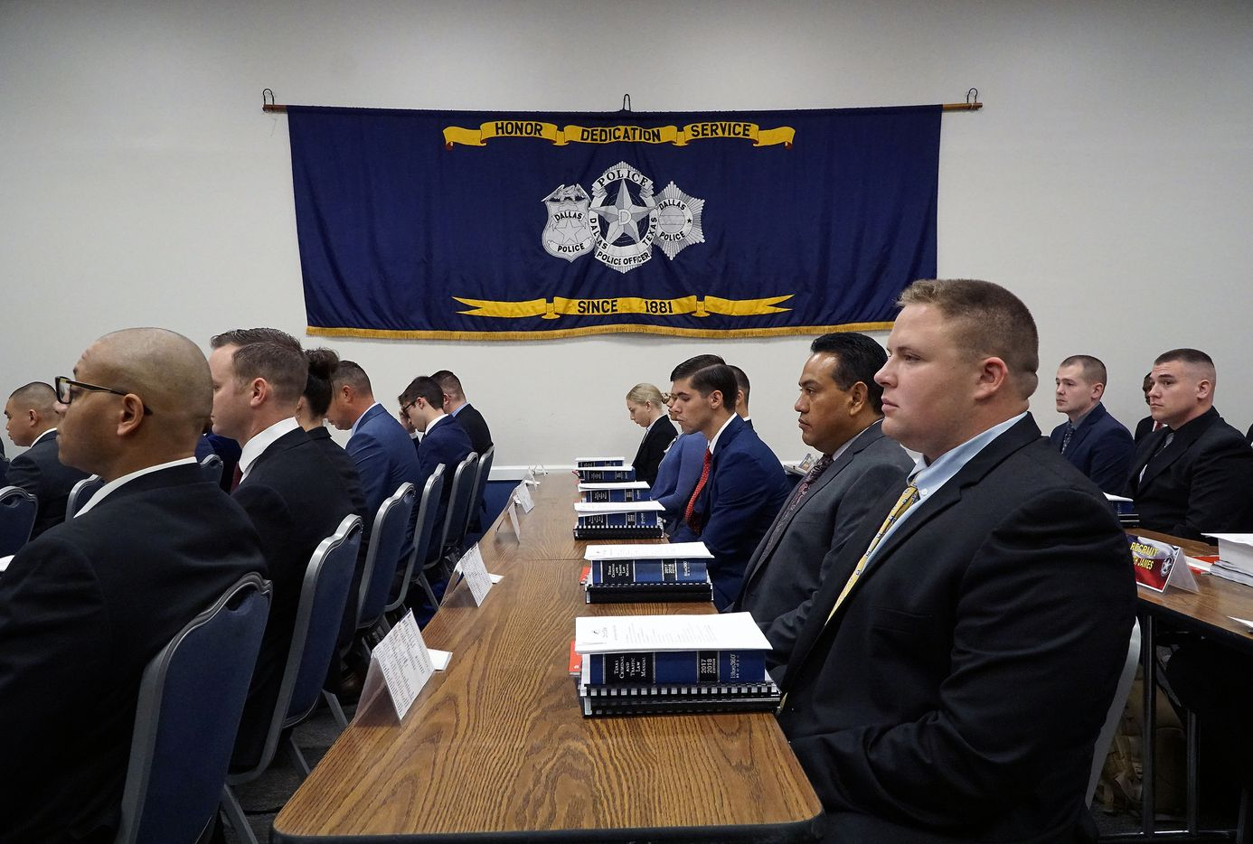Class 368, the largest recruit class in DPD history, began their training at the Dallas Police Basic Academy in Dallas, Texas on Wednesday, September 18, 2019.