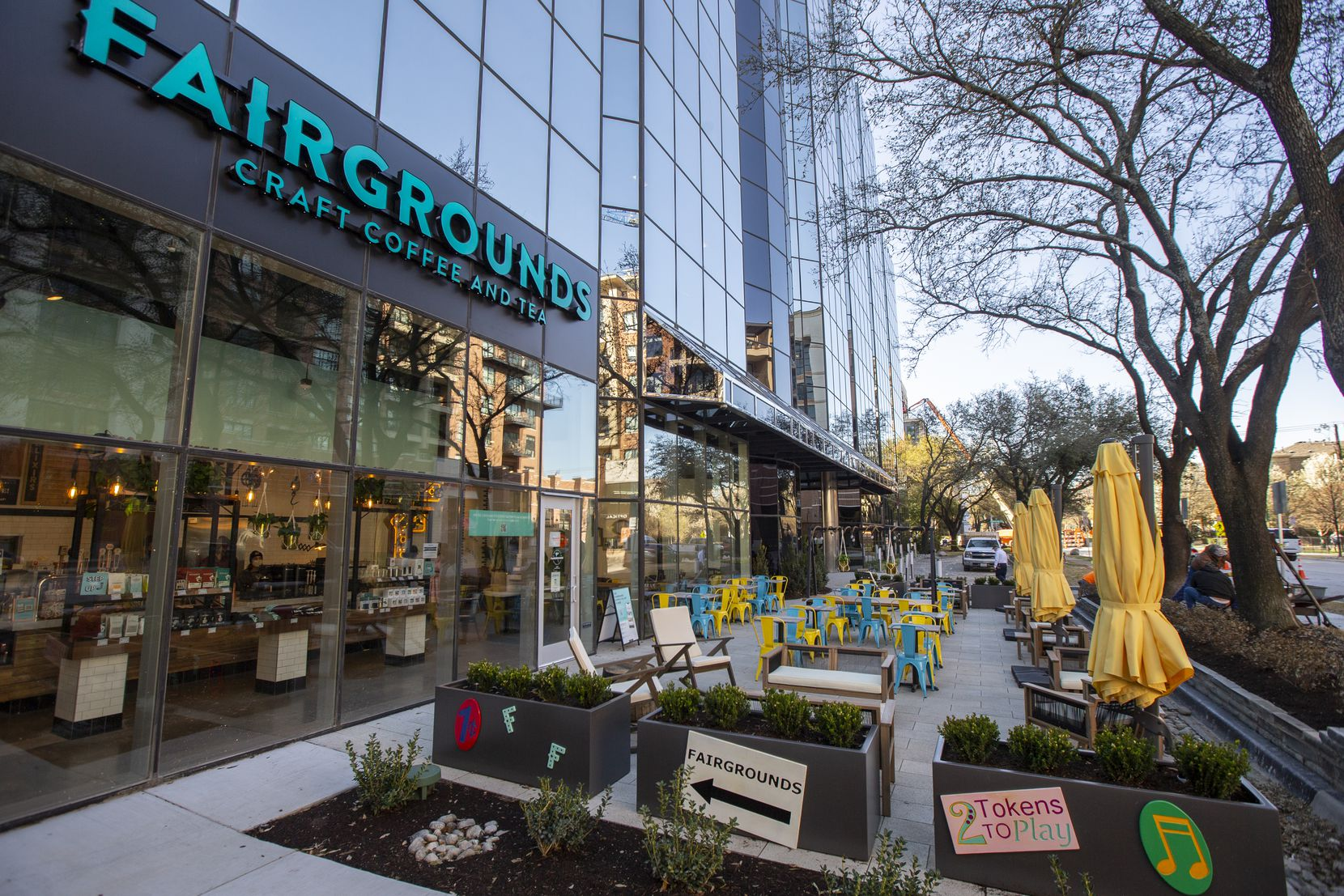 Fairgrounds Coffee & Tea started in Chicago. Its first shop in Dallas opened March 24, 2021. More are expected to open in Dallas, says CEO Michael Schultz.