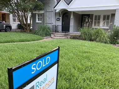 North Texas home sales fell in July after more than a year of gains.