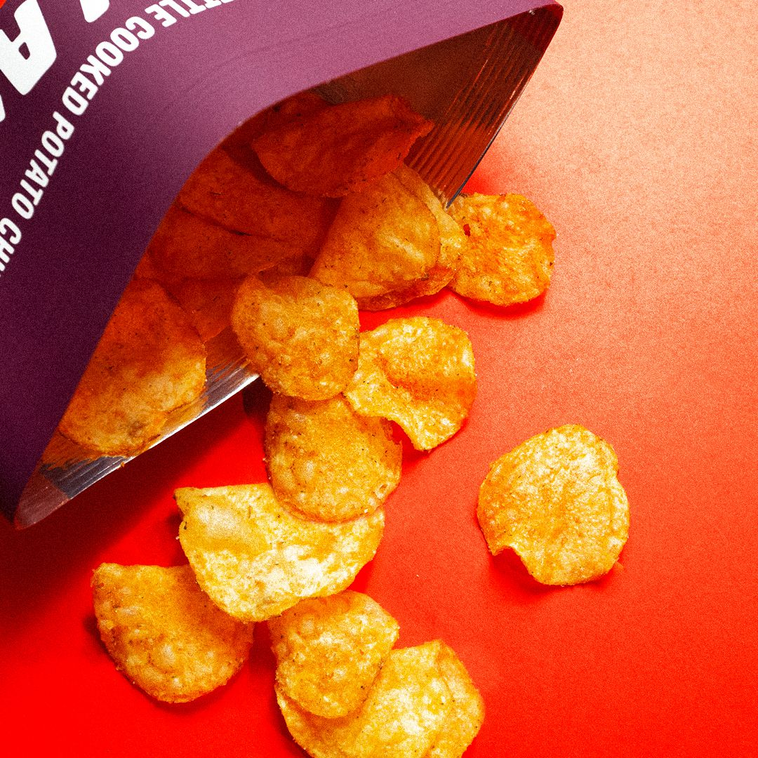 Krakatoa has a super-spicy line of kettle-cooked potato chips, dusted with ghost pepper and other mouth-numbing chiles.