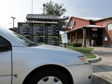 Hutchins BBQ in McKinney is scheduled to reopen sometime in April, according to the restaurant.