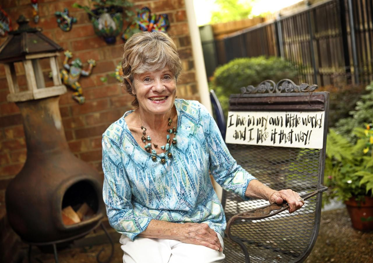 Mary Weir, who lives near White Rock Lake, charmed a snake out of her linen closet and delivered it to a nearby park with the help of a long-handled mop.