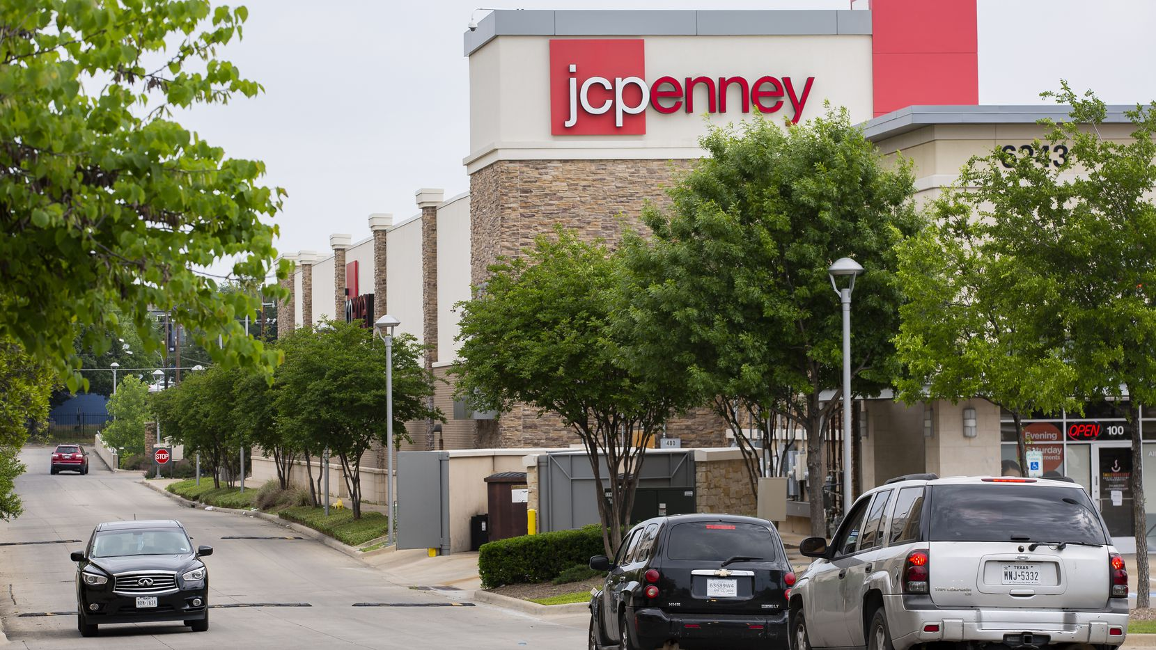 The exterior of the J.C. Penney in the Timber Creek Crossing shopping center.