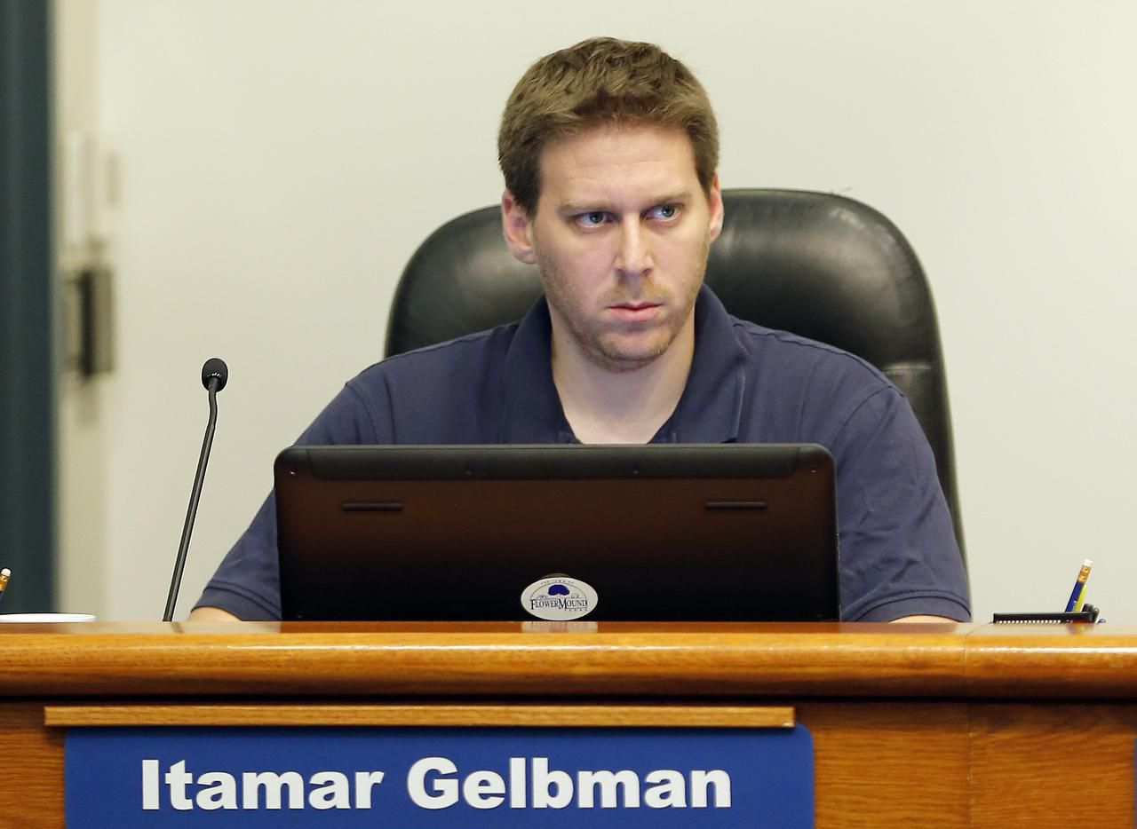 Itamar Gelbman, shown in a file photo from 2015, is facing a lawsuit from actor Charlie Sheen.