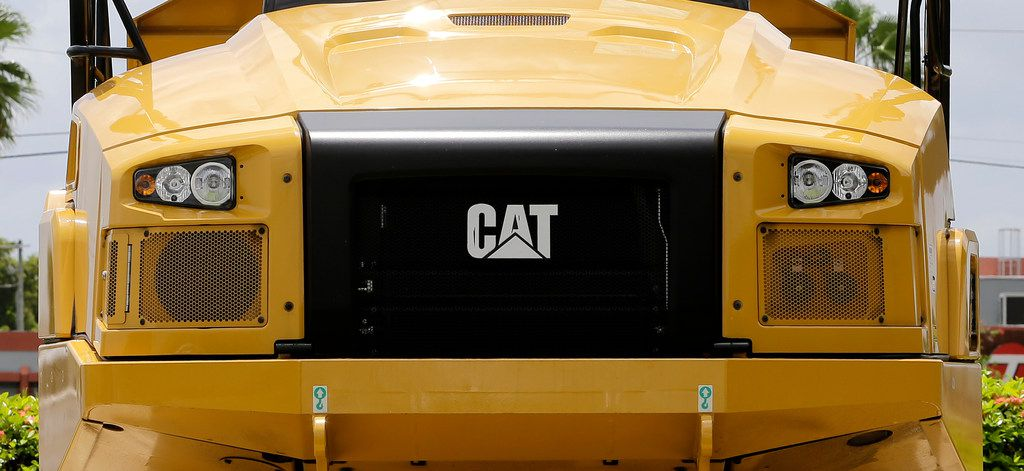 Heavy machinery company Caterpillar reported the highest tax rate, 138.1 percent, but two experts agreed that doesn't reflect the company's actual tax rate.