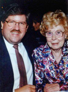 Marjorie Nugent met Bernie Tiede when her husband died in 1990. They traveled the world together.