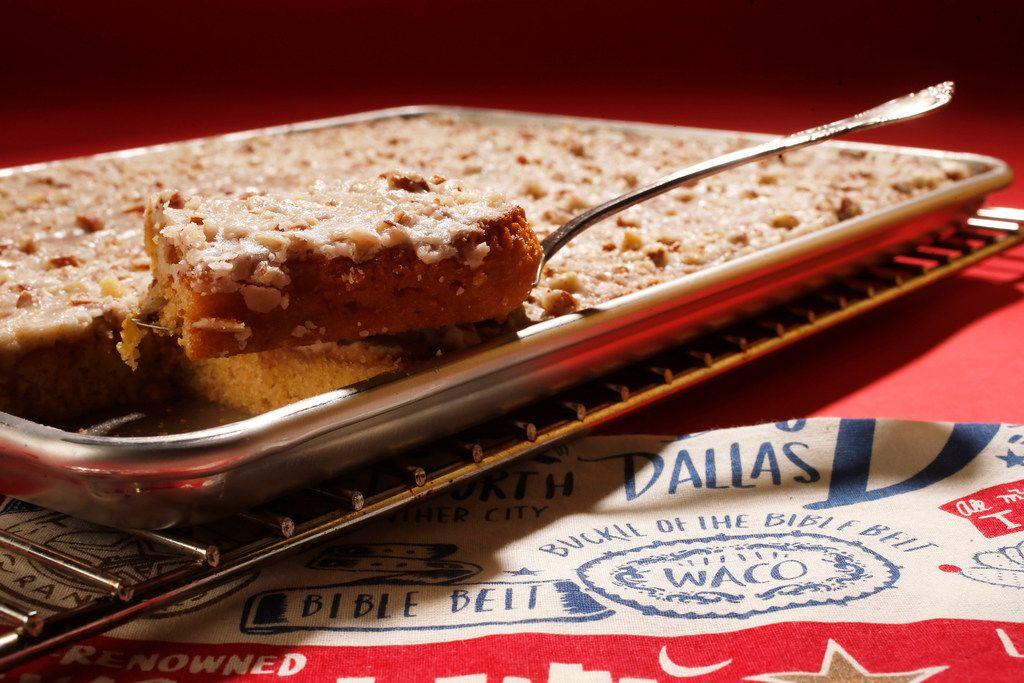 Dr Pepper White Texas Sheet Cake
