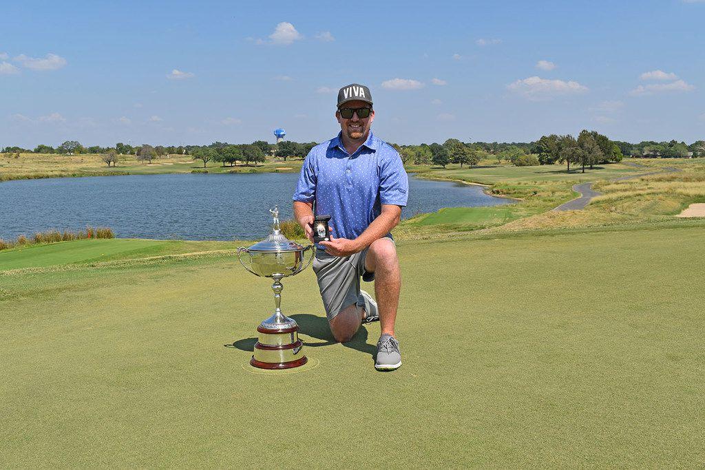 Chris Wheeler of Addison shot a 2-under 214 at Maridoe Golf Club in Carrollton to win the Texas Mid-Amateur at Maridoe Golf Club by five shots on Sunday, Sept. 15, 2019.