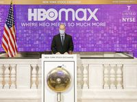 IMAGE DISTRIBUTED FOR THE NEW YORK STOCK EXCHANGE - WarnerMedia and HBO Max (NYSE: T) virtually ring The Opening Bell today, Wednesday, May 27, 2020 in New York, in celebration of the launch of HBO Max.