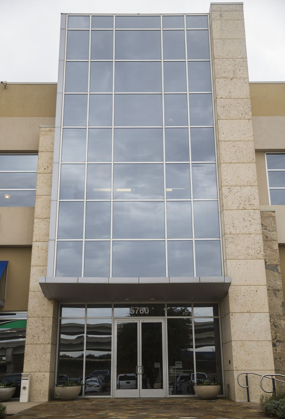 Vilhauer Enterprises headquarters, which is on the second floor of this building near the intersection of State Hwy 121 and the Dallas North Tollway, on Tuesday, November 26, 2019 in Plano. ICE is investigating the company for fraud for continuing to employ undocumented immigrants even after being caught and fined for it in 2015. (Ashley Landis/The Dallas Morning News)