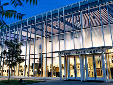 The Coppell Arts Center was designed by Kirk Johnson, director of sustainable design with the firm Corgan. Johnson also designed Moody Performance Hall.