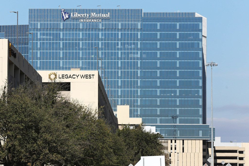 Liberty Mutual formally opened its new building Wednesday in Plano. (Louis DeLuca/Staff Photographer)