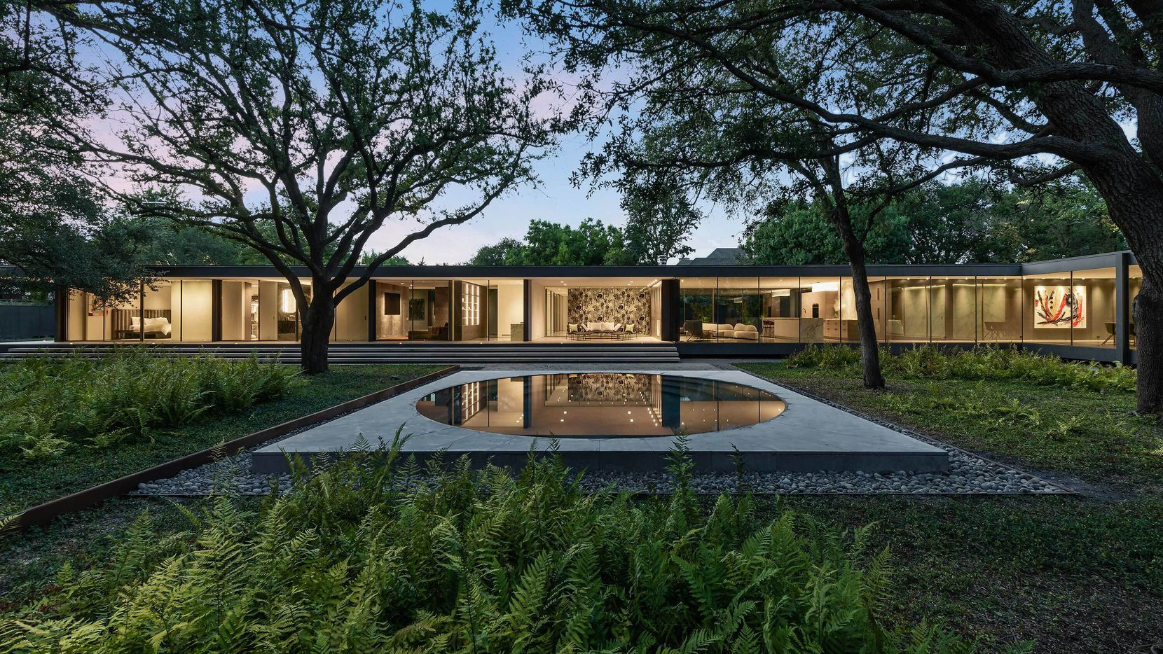 Take a look at the home at 11345 W. Ricks Circle in Dallas. The home was designed with sustainability in mind.