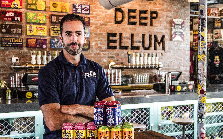 Deep Ellum Brewing Co. founder John Reardon