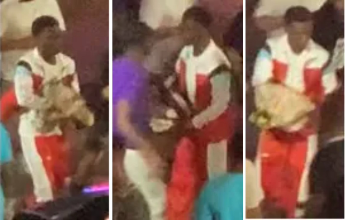 Dallas police were searching for a suspect in a shooting that happened outside a Deep Ellum nightclub on Sunday.