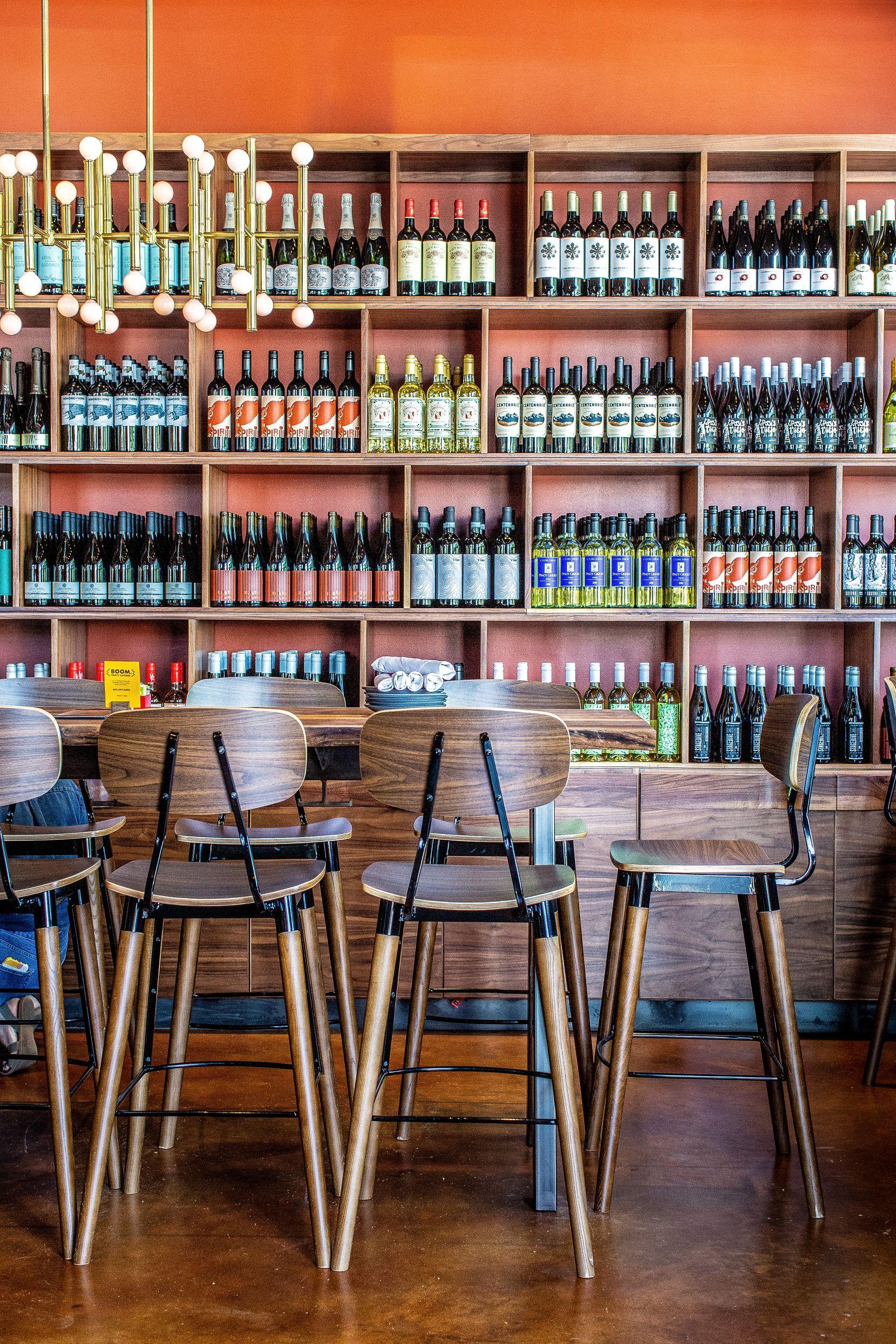 Postino wine bar in Houston Montrose