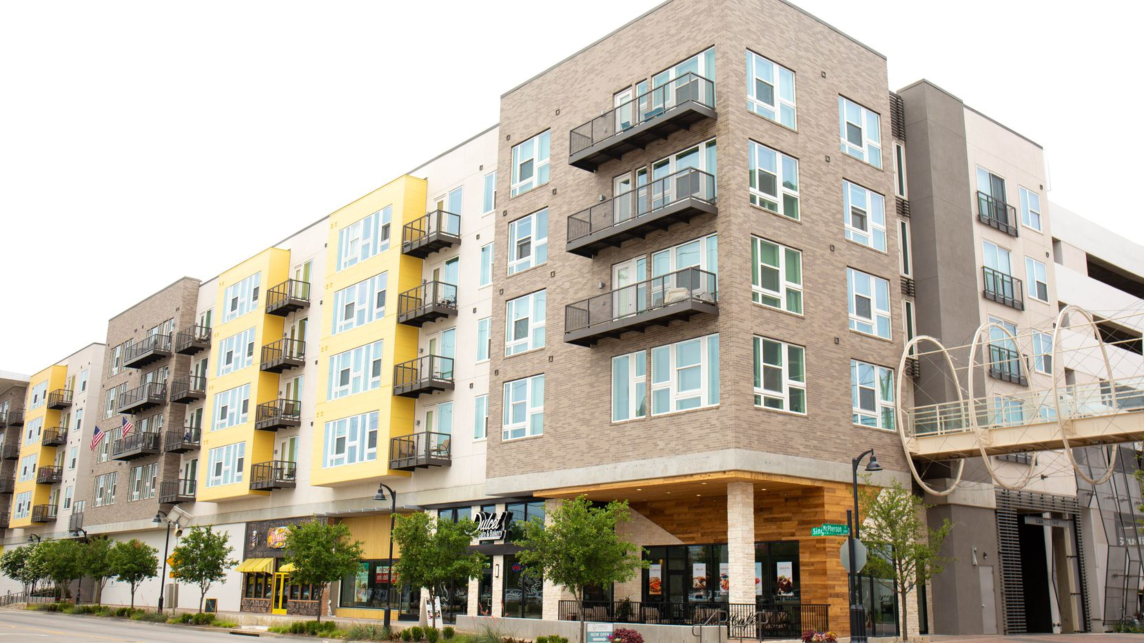 The Cypress at Trinity Groves apartments on Singleton Boulevard have signed three new restaurant tenants.