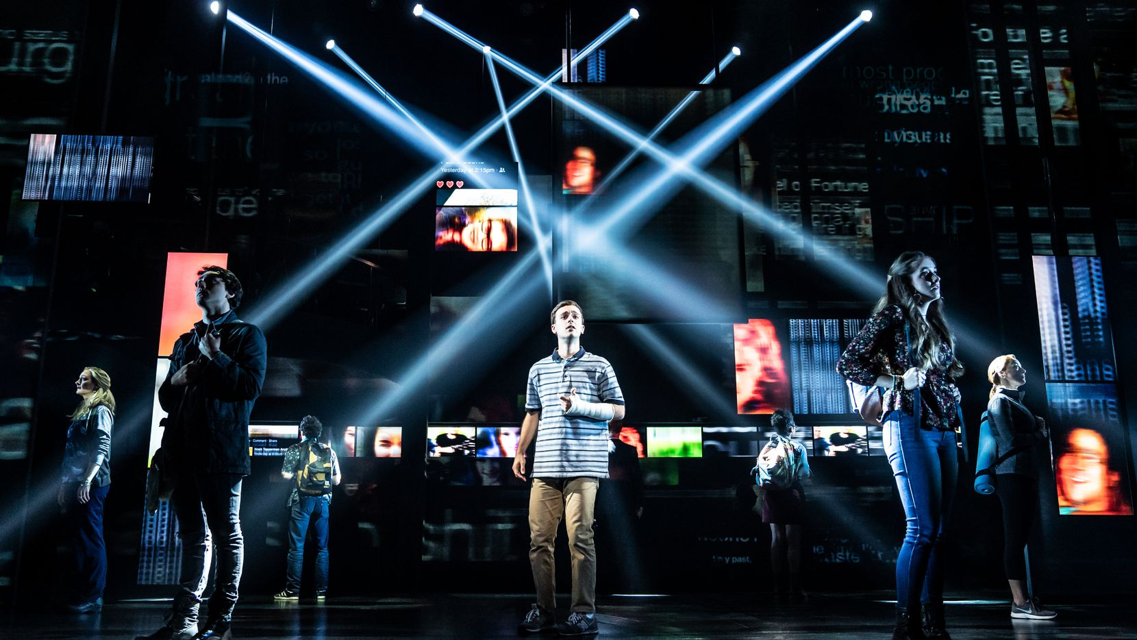 "The North American touring company of ""Dear Evan Hansen."""