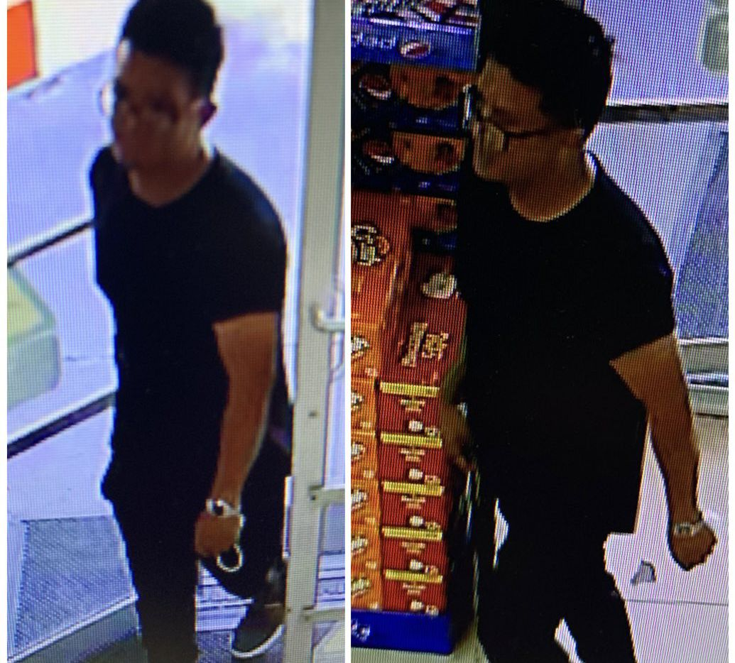 Police released surveillance images Friday of the man they're seeking on an indecent exposure charge.