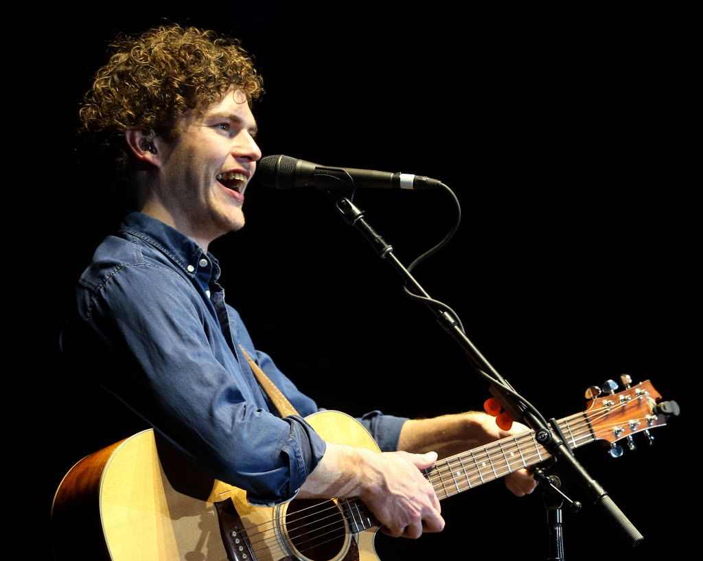 Vance Joy opened for Taylor Swift at AT&T Stadium in Arlington, on Saturday, October 17, 2015.