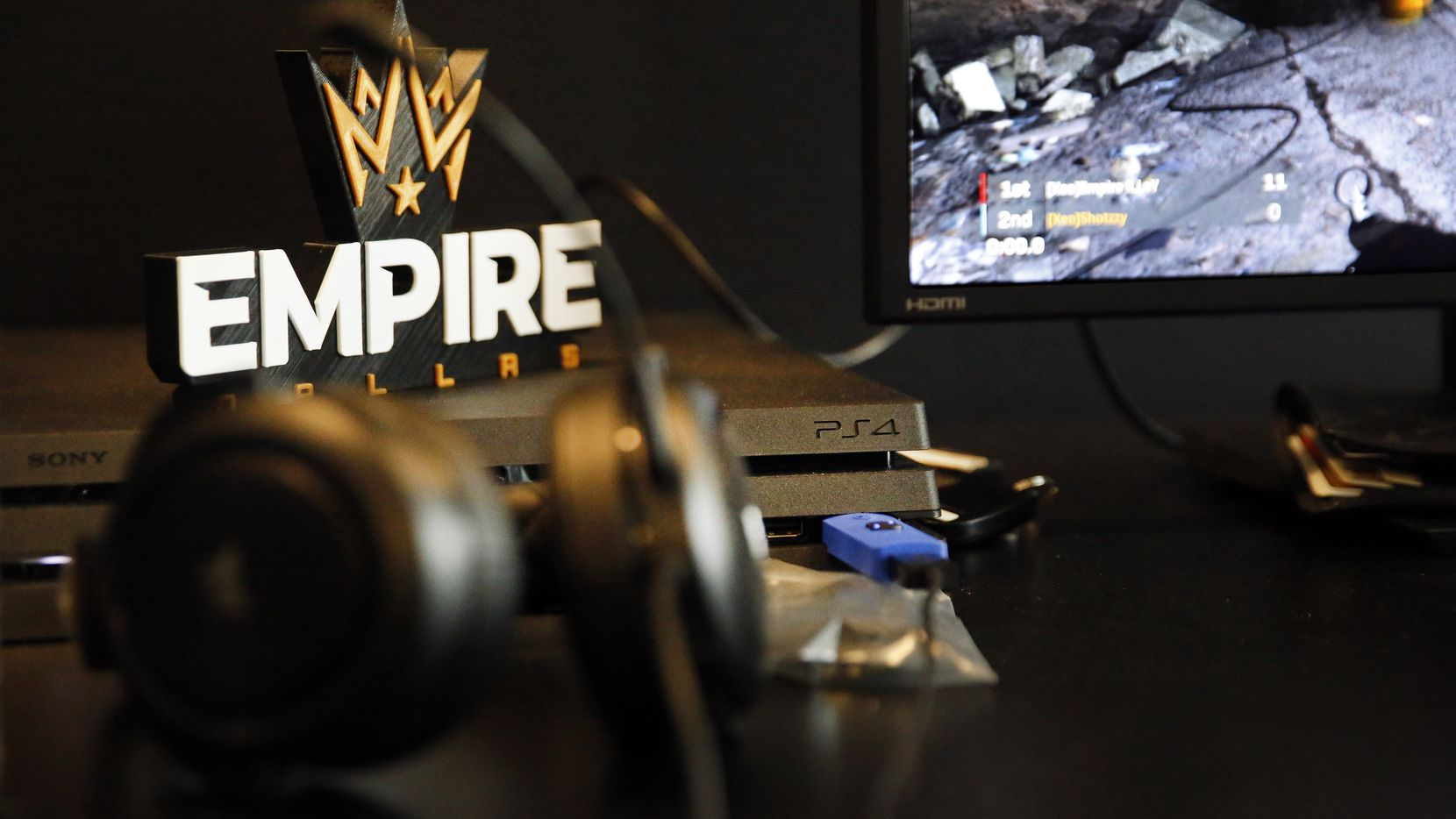 Dallas Empire, a new Call of Duty League franchise, is setting up their new Dallas offices in Victory Park, Wednesday, January 15, 2020. The team of 7 began practice this week in anticipation of the Jan. 24 season opener. (Tom Fox/The Dallas Morning News)