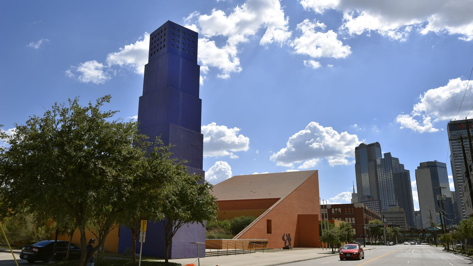 The Latino Cultural Center in Dallas from Live Oak Street, Aug. 31, 2018.