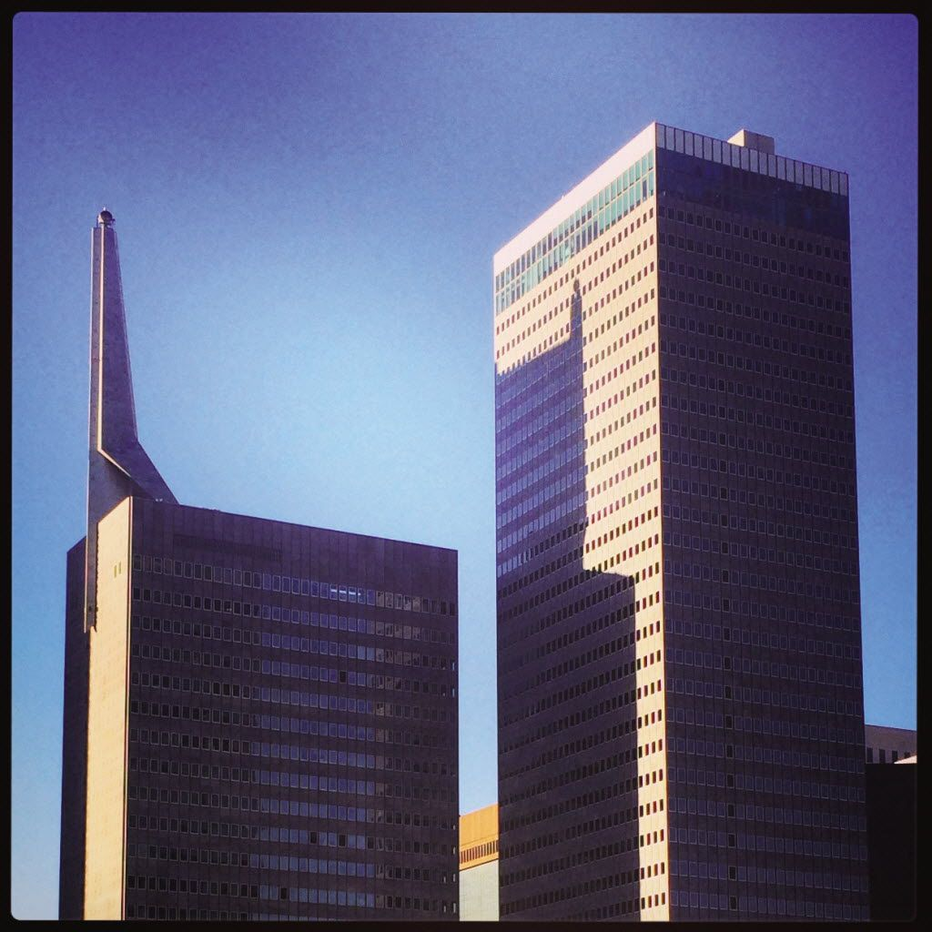 Hamilton made his mark in downtown Dallas as the architect of the second Republic Bank Tower