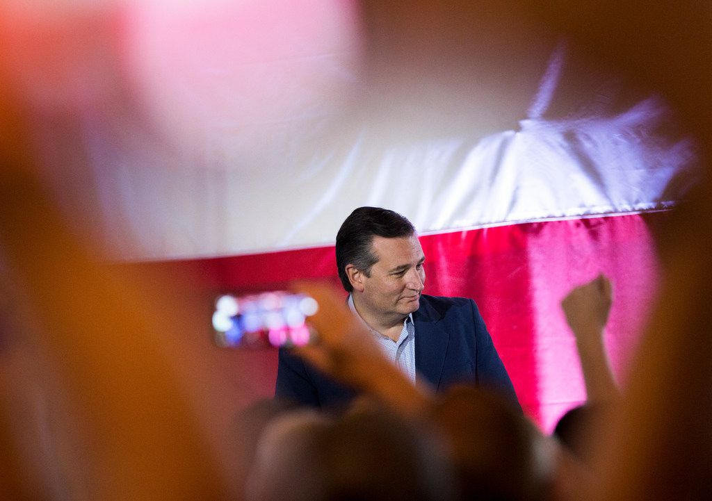 Republican Sen. Ted Cruz speaks at a Collin County Republican Party event Monday, September, 3, 2018 in McKinney, Texas.