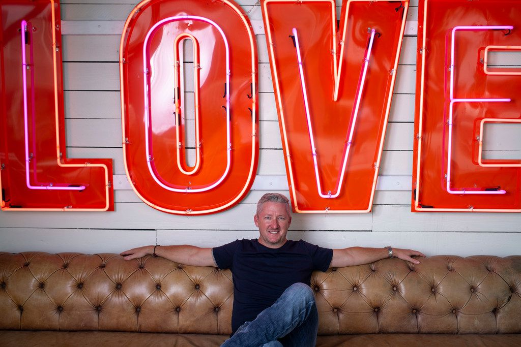 """I've liked this property for 10 years,"" Tim Love says of the space on 4400 White Settlement Road. Check your Instagram feeds in a week and you'll likely see some photos here, under the neon ""LOVE"" sign."