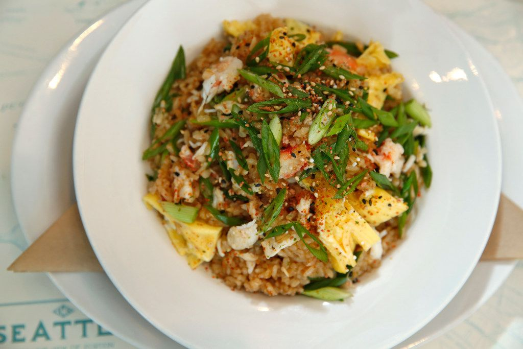 Montlake Cut's Alaskan king crab fried rice